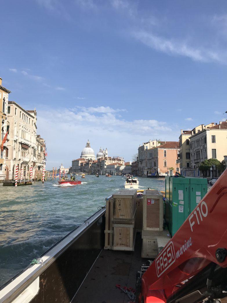 Tasporto opere d'arte e quadri Venezia